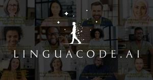 """""""Linguacode.AI"""", immediately converts spoken words from a microphone into text, translates them into other languages, and displays them as subtitles in the video conference."""