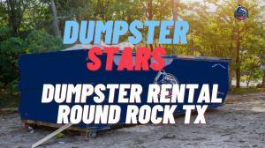 Dumpster Rental Round Rock TX