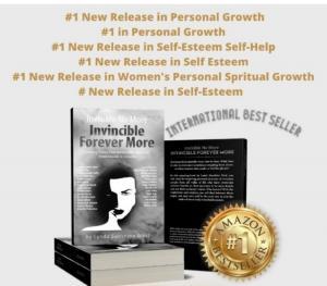 Pamela Gort is Invincible Forever More International Best Selling Book