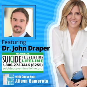 Alisyn Camerota with Dr. John Draper on Distraction Podcast