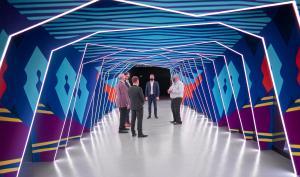 Photo of tour of Australia Expo 2020 Pavilion given to Black team members