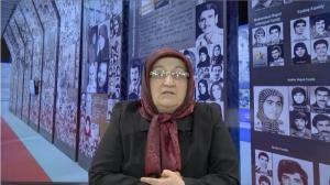September 10, 2021 - Khadijeh Borhani, a survivor of a family of 10 people who, after the anti-monarchy uprising of 1979, in which Khomeini rode the wave of the revolution and began killing those who opposed him and his ideas, especially the supporters of
