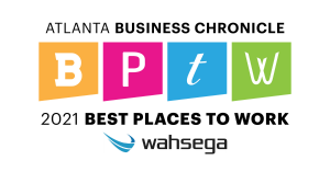 Best Places to Work and Wahsega logo