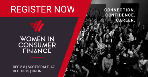 Join us at Women in Consumer Finance this December