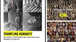 September 13, 2021 - Amnesty International reports shocking Iranian regime human rights abuse.