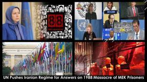 September 13, 2021 - U.N. Urged to Investigate 1988 Massacre of Political Prisoners in Iran.