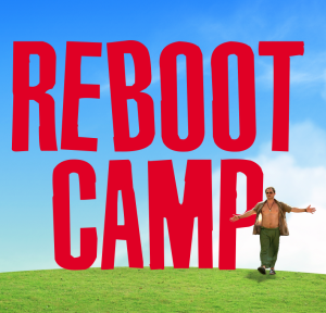 Logo for Reboot Camp
