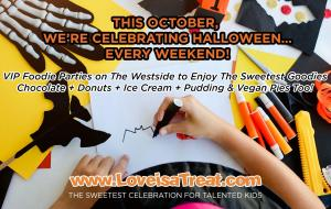 Love is a Treat...Come to The Sweetest Celebrations for Talented Kids #nowornever #loveisatreat #sweetcelebration www.LoveisaTreat.com