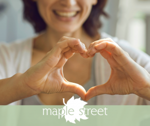 Maple Street gives back