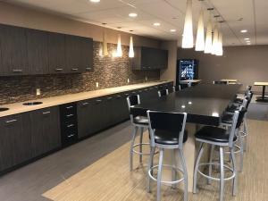 Veterans Home Care's new office break room