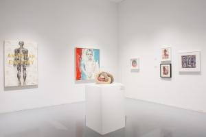 A photo of the 2019 INSIGHTS III exhibition at the Zolla/Lieberman Gallery in Chicago.
