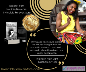 Mischelle O'Neal helps people become INVINCIBLE forevermore!
