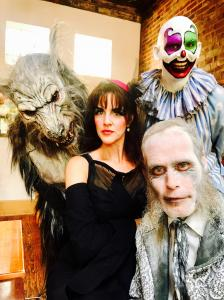 Edge of Hell and the Beast Cast Join the Queen of Haunts