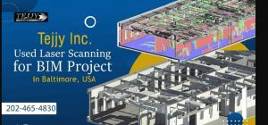 Laser Scanning for BIM Project in Baltimore, USA