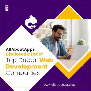 AllAboutApps Disclosed a List of Top Drupal Web Development Companies in 2021