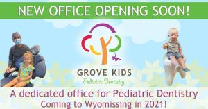 Grove Kids Pediatric Dentistry is coming soon to Wyomissing