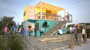 Wake Oasis Coffee Drive Thru Modular Shop Street View