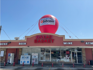 Giant Bitcoin Inflatable