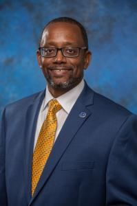 Dr. Eric Gamble, Vice President for Planning, and Information Technology