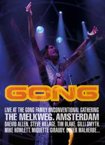 Gong - Live at the Gong Family Unconventional Gathering DVD Cover