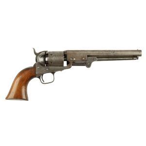 Rare Colt model 1851 Navy pistol, made in America (estimate: CA$6,000-$8,000).