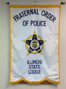 Illinois Fraternal Order Of Police - Flag