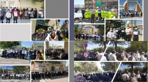 September 26, 2021 - Various reports of teachers killing themselves were referenced in a statement from the Iranian Teachers Coordination Council. A teacher from the city of Neishabour in northeast Iran committed suicide with a rice tablet.