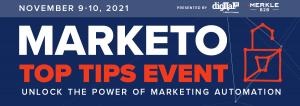 Unlock the power of marketing automation at Digital Pi Marketo Top Tips Event November 9-10, 2021
