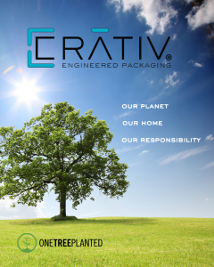 CRATIV Packaging and One Tree Planted