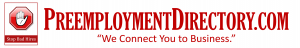 PreemploymentDirectory.com logo