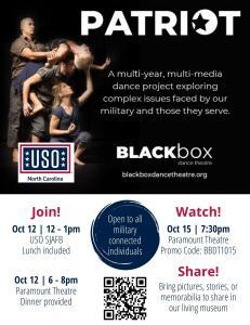PATRIOT Project - Black Box Dance Theatre