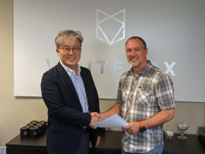WhiteFox and AGOS Signing Ceremony