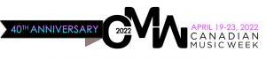 Canadian Music Week 2022 Logo