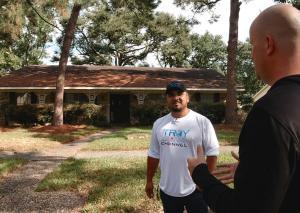 Millionaire Mentee Joel Palacios meets mentor Troy Kearns