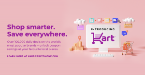 Shop and save with Kart