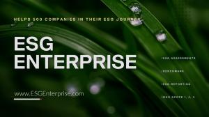 ESG Enterprise Software SaaS Reporting Platform