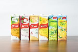 Looking sleek and attractive - Yeo's new Combi line packaging   enhances the consumer experience
