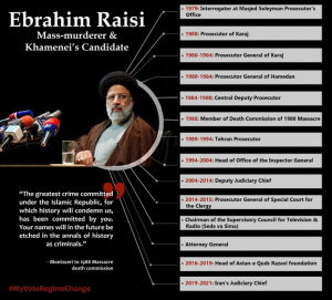 October 13, 2021 - This summer, ultra-hardliner cleric Ebrahim Raisi took office as President.  Major human rights organisations have listed him as a major perpetrator of the massacre of thousands of political detainees in 1988.