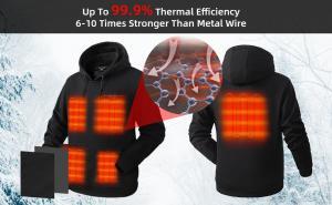 Venustas pullover heated hoodie unisex-2