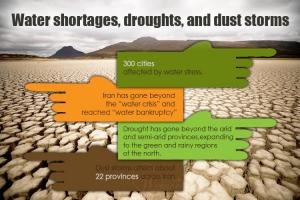 October 13, 2021 - In 2021, we see that the range of drought progress has gone beyond the arid and semi-arid provinces. Official statistics show that there is also a risk of drought for the green and rainy regions in the north.