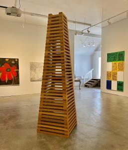 "Private/Public Gallery's Premier Show, 95 North"" in Hudson, NY"