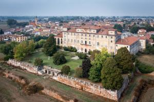 360-degree views of the Lombardy landscape countryside