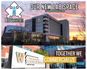 BioGravity opened their Startup Innovation Lab at WMU called Michigan Space Statio