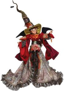 A 54.5cm witch figurine by Mark Roberts.