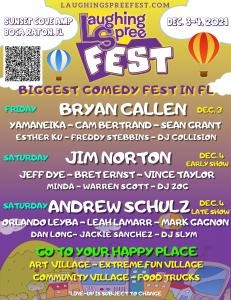Andrew Schulz, Jim Norton, Bryan Callen, Esther Ku, Yamaneika, Leah Lamarr and more at Laughing Spree Fest