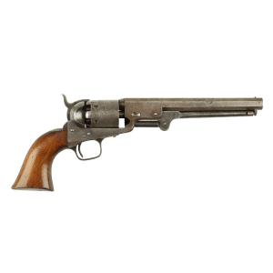 Rare Colt model 1851 Navy pistol, made in America but issued to the Canadian Upper Canada (Ontario) Volunteer Militia in 1855 (CA$28,320).