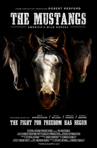 """""""The Mustangs: America's Wild Horses"""" Poster"""