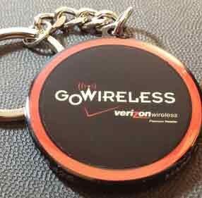 Verizon Go Wireless NFC keychain