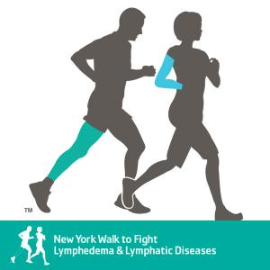 New York Walk to Fight Lymphedema & Lymphatic Diseases logo