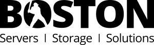 Boston Servers Storage Solutions Logo in black writing